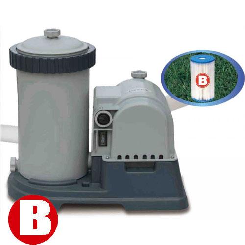 Intex pompa filtro per piscina 3785 l h easy frame 457 for Filtro piscina intex